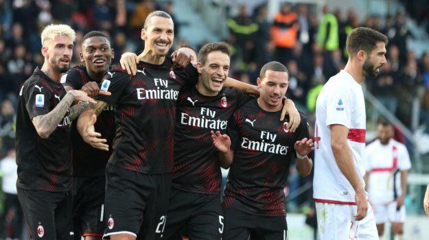 calcio, milan, serie a, Zlatan Ibrahimovic, Sicilia, Sport