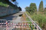 Barcellona, grave frana a Montecroci: il fango invade via Leopardi