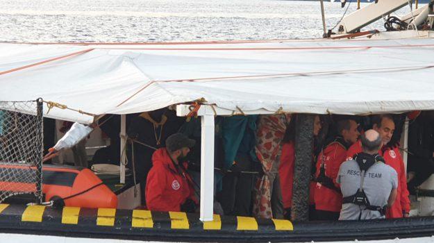 migranti, open arms, sbarco, Messina, Sicilia, Cronaca