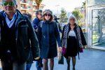 L'ex prefetto di Cosenza Paola Galeone si presenta all'interrogatorio