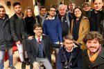 """Pippo Callipo incontra i giovani a Vibo: """"La nostra rivoluzione inizia dall'ascolto"""""""