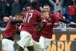 Il Lecce frena l'Inter, una doppietta di Rebic regala la vittoria al Milan