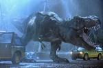 Il T-Rex nel film Jurassic Park