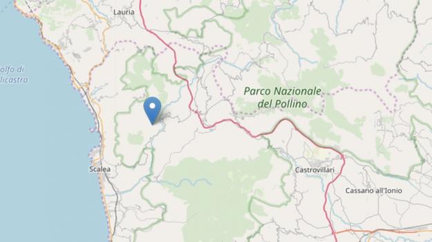 papasidero, terremoto, Cosenza, Calabria, Cronaca