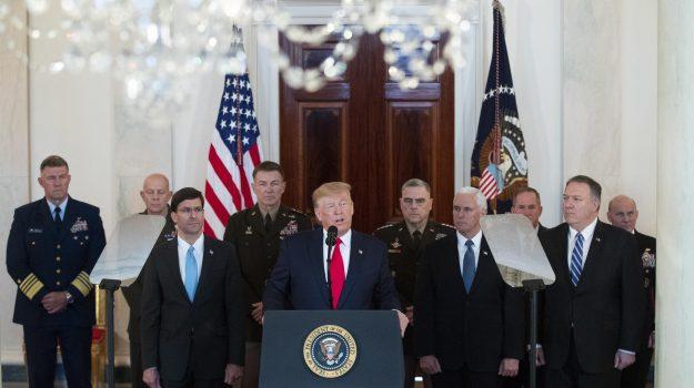 iran, iraq, usa, Donald Trump, Qassem Soleimani, Sicilia, Mondo