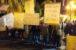 La manifestazione di ieri a Lamezia contro Salvini