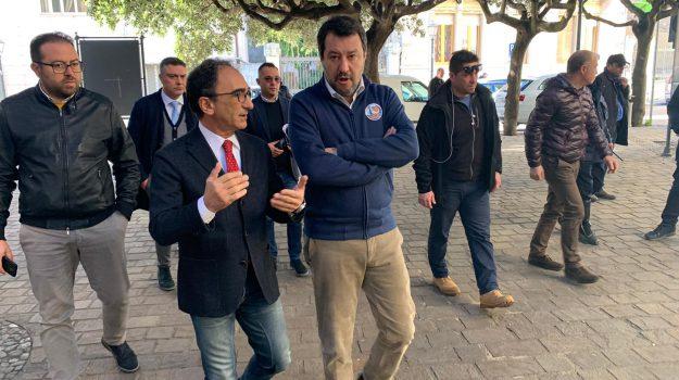 lega, regionali in calabria, Matteo Salvini, Sergio Abramo, Catanzaro, Calabria, Politica