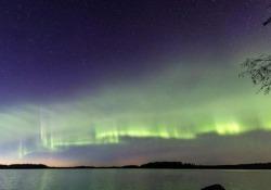 Astronomi amatoriali scoprono un nuovo tipo di aurora boreale Il fenomeno appare nel cielo sotto forma di dune - CorriereTV