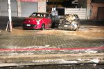 Incendio nella notte a Reggio a Calabria, bruciate 5 auto in viale della Libertà - Foto