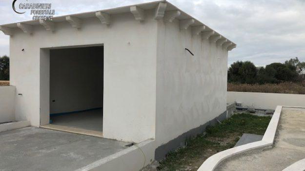 box, carabinieri, sequestro, villetta abusiva, Catanzaro, Calabria, Cronaca