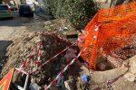 Drammatica gimkana tra le buche per le strade di Reggio Calabria