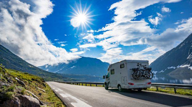 viaggi in camper, Viaggi