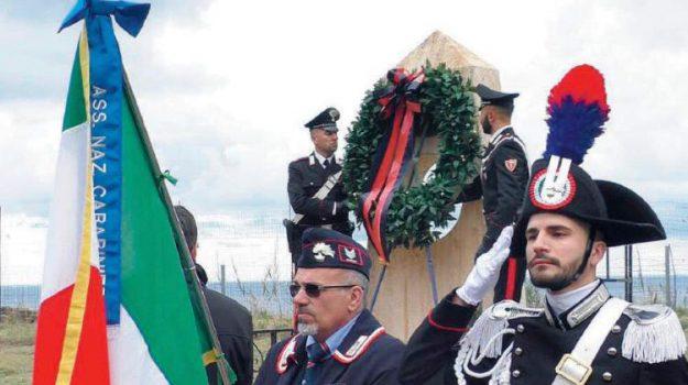 'ndrangheta, carabinieri, cerimonia, Antonino Fava, Teresa Vicari, Vincenzo Garofalo, Reggio, Calabria, Cronaca