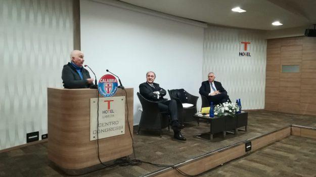 convegno, statista, udc, Aldo Moro, Franco Talarico, Lorenzo Cesa, Maria Fida Moro, Catanzaro, Calabria, Politica
