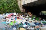 Zona sud di Messina, tra ponti pericolanti e un mare di rifiuti nei torrenti