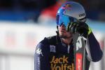 Brutta tegola per l'Italia dello sci, rottura legamento del ginocchio per Dominik Paris