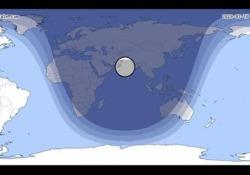 Eclissi di luna visibile in Italia Fase massima alle 20.10 - Corriere Tv