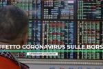 Effetto coronavirus sulle Borse, affondano le asiatiche