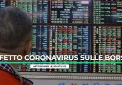 Effetto coronavirus sulle Borse, affondano le asiatiche Gli investitori aspettano la nuova riunione dell'Organizzazione mondiale della sanità che potrebbe dichiarare un'emergenza internazionale - Ansa