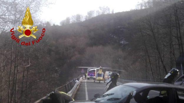 elisoccorso, incidente stradale, Cosenza, Calabria, Cronaca