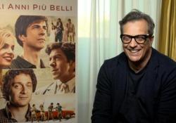 Gli anni più belli, Muccino: «I personaggi? Li amo anche quando sbagliano» Il regista commentando il suo ultimo film, nelle sale dal 13 febbraio - Ansa