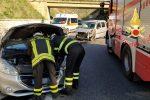 Incidente frontale sulla statale 106 a Stalettì, un ferito e traffico in tilt