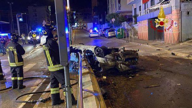 genova, incidenti stradali, san cataldo, Bruno Lauria, Giuseppe Lunetta, Guido Grassi, Sicilia, Cronaca