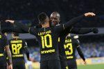 Lukaku e Lautaro show, l'Inter vince anche a Napoli