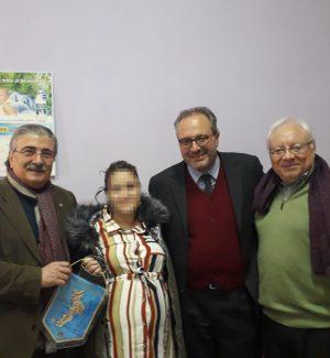 Franco Perticone, la mamma coraggio, Luigi Critelli e Franco Larussa