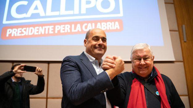 pd, Nicola Zingaretti, pippo callipo, StefanoGraziano, Catanzaro, Calabria, Politica