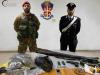 Ritrovate armi, droga e refurtiva a Seminara e San Procopio, denunciate tre persone