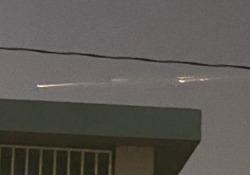 Porto Rico: misteriose luci nel cielo Il fenomeno causato dai detriti spaziali di un razzo cinese - CorriereTV