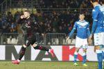 """Il Milan passa a Brescia grazie a Rebic, Pioli: """"Non belli ma vincenti"""""""