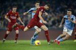 Il derby Roma-Lazio finisce in parità: 1-1