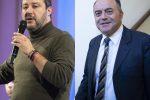 """Salvini incontra Gratteri: """"Dalla Lega totale sostegno a chi combatte la 'ndrangheta"""""""