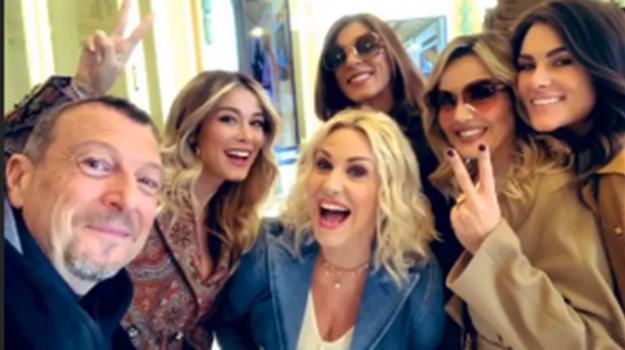 sanremo, Antonella Clerici, Diletta Leotta, Emma D'Aquino, Laura Chimenti e Francesca Sofia Novello, Sicilia, Cultura