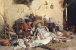 Giovanni Battista Torriglia, Madre col bambino, circa 1890 – 1900, olio su tela, 70 x 51 cm, collezione privata