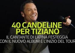 40 candeline per Tiziano Ferro Il cantante di Latina festeggia con il nuovo album e l'inizio del tour - Ansa