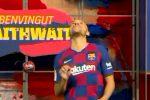 Al Nou Camp primi palleggi per Braithwaite, nuova stella del Barcellona