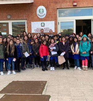 """A scuola di legalità, gli studenti del """"Citriniti"""" di Simeri Crichi incontrano i carabinieri"""
