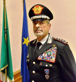 Il generale di Corpo d'armata dei carabinieri Carmelo Burgio