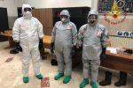 Coronavirus, i vigili del fuoco di Messina si preparano ad interventi a rischio contagio