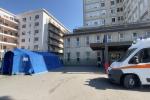 Coronavirus, le tende pre-triage istallate negli ospedali siciliani