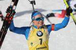 Biathlon, Dorothea Wierer campionessa mondiale dell'inseguimento