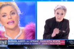 """Live-Non è la d'Urso, Cipriani contro Barbara Alberti: """"Non esistono solo le donne pelle e ossa"""""""
