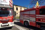 Incendio in un casolare abbandonato di Catanzaro Lido, nessun ferito