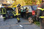 Catanzaro, perdita di Gpl dopo uno schianto tra due auto: zona messa in sicurezza