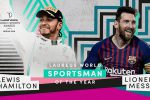 Laureus Awards 2020, Lewis Hamilton e Leo Messi premiati come sportivi dell'anno