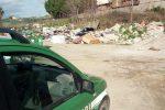 Sequestrata area autoparco di Luzzi trasformata in discarica di rifiuti, due denunce
