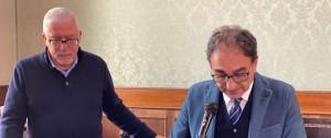Da sinistra Lucio Cosco e Sergio Abramo